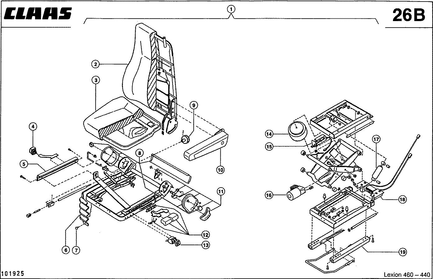 Сиденье вольво fh12 схема